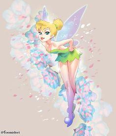 Tinker Bell by foomidori.deviantart.com on @DeviantArt