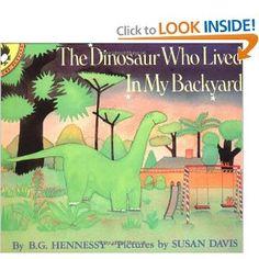 A lima bean eating dinosaur - CUTE book!