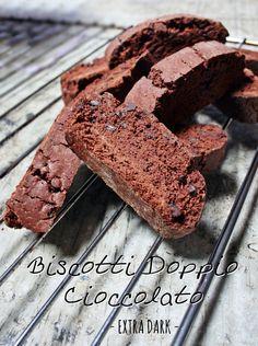 Biscotti Doppio Cioccolato Extra Dark - Biscotti Double Chocolate