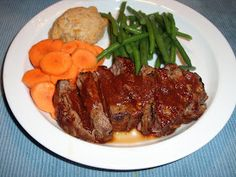 Grilled Steak with Texas Mop sauce