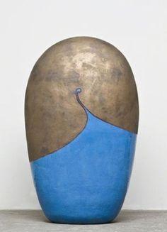 vjeranski:    JUN KANEKO  Untitled Dango (09-04-11), 2009  Ceramic, glaze