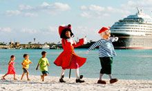 Breathtaking beaches, incredible recreation and exceptional shopping experiences are just the start. Paired with the world-class comfort, leisure and unrivaled personal service of a Disney Cruise Line cruise, it's the only cruise line we'll use.