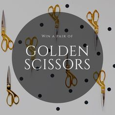 Blitsy's Golden Scissors are back, you should try to win a pair! If you win a pair of Golden Scissors you're automatically entered into a drawing to win a $1000 Blitsy gift card.