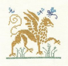 free chart for this griffin, and a unicorn chart too