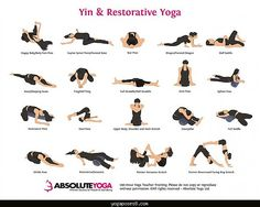 Easy yin yoga poses - Yogaposes.com ®
