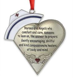 Nurse-Heart-Shaped-Ornament-with-Message-Engraved-Silver-Metal-with-Hand-Painted-Enamel-Caduceus-Hat-Heart-with-Angel-Wings-4-Gift-Boxed-0