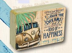 The Gecko Shack - Kombi Revival OPEN YOUR HEART