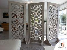 Les 54 meilleures images de moucharabieh moucharabieh claustra bois et bois - Paravent interieur ikea ...
