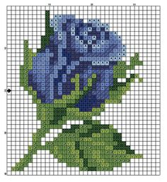 63 Ideas For Wall Design Pattern Color Combos Mini Cross Stitch, Cross Stitch Cards, Cross Stitch Rose, Cross Stitch Flowers, Cross Stitching, Cross Stitch Embroidery, Embroidery Patterns, Modern Cross Stitch Patterns, Cross Stitch Designs