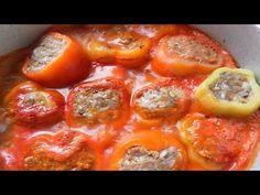 ОЧЕНЬ ВКУСНЫЙ ФАРШИРОВАННЫЙ ПЕРЕЦ! - YouTube Pepperoni, French Toast, Pizza, Healthy Recipes, Healthy Food, Vegetables, Breakfast, Ethnic Recipes, Youtube