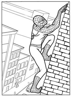 33 wonderful spiderman coloring pages your toddler will love