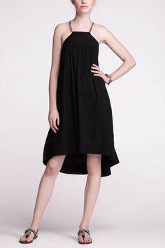 simple black dress.. similar to my wedding dress.. i love this!