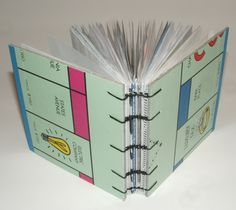 Recycle Bin Rescue Monopoly Mini Journal by goodbyecitylife