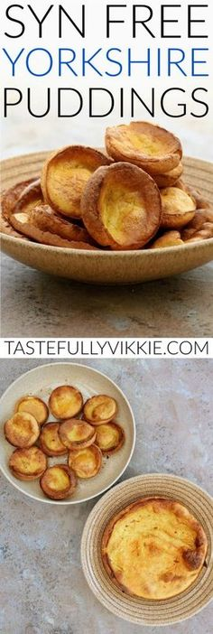 Slimming World Syn Free Yorkshire Puddings - Tastefully Vikkie astuce recette minceur girl world world recipes world snacks Slimming World Dinners, Slimming World Recipes Syn Free, Slimming Eats, Slimming World Gravy, Slimming World Breakfast, Fake Away Slimming World, Slimming World Smoothies, Slimming World Eating Out, Aldi Slimming World Syns