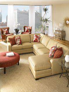 Chairs and ottoman from King Hickory are wonderful!