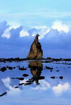Sawarna Beach - west java, Indonesia