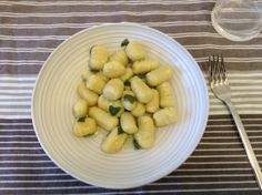 Gnocchi stuffed with Gorgonzola