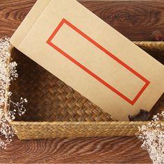 The New Retro China wind No.five brown envelope containing customized wholesale invitation envelopes 22x11cm 10pcs/set #Affiliate