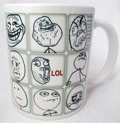 Caneca & Mug Rug - MEMES