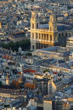 Saint Sulpice, Paris, west facade // architects: 1732 Servandoni, Oudot de Maclaurin, 1777 Jean Chalgrin