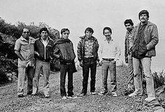 En busca de la verdad. Foto de Caretas. Siete de los ocho periodistas que murieron en Uchuraccay (26 de enero de 1983)