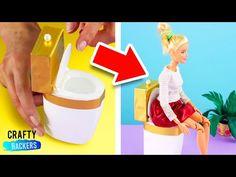 Barbie and Her Hydro dip Dollhouse Accessories Diy Barbie Furniture, Dollhouse Furniture, Dollhouse Accessories, Barbie Accessories, Recycling For Kids, Dollhouse Kits, Needlepoint Kits, Vintage Barbie, Miniature Dolls