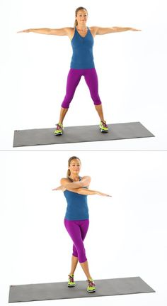 Pin for Later: All-Time-Best Inner-Thigh Exercises Scissor Jacks