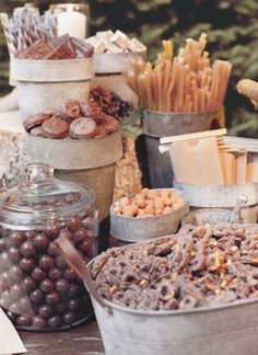 Wedding Candy - always loved this idea