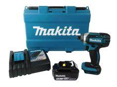 Makita 18V XDT11Z Cordless Impact BL1850B 5 Ah Battery Pack DC18RC Charger Bag
