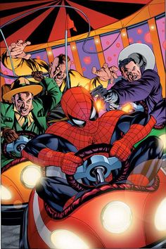Spider-Man vs The Enforcers by Mike McKone