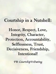 Biblical answers for dating and courtship