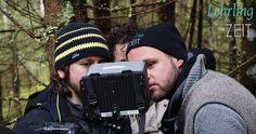Bildbeurteilung durch Regisseur Simon Tasek, Kameramann Matthäus Weißenbacher und Rudi himself. Movie, Pictures, Film Director, Camera