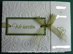 Annes Kartenstube: Hochzeit