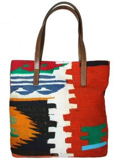 Kilim Shopping Bag-TOB1410