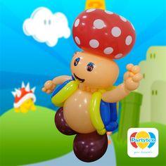 Honguito: personaje del popular juego Mario Bros.