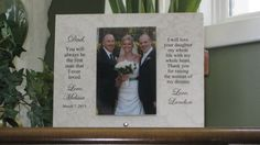 FATHER Of BRIDE Gift Father Daughter Gift Father by ADawnCreation