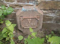 Water Company Valve Sign Pilley Bridge