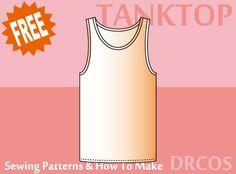 tanktop sewing patterns & how to make