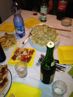 focaccia, pansoti, beer and friends