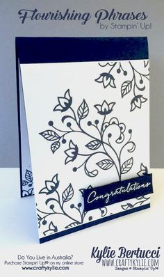 Stampin' Up! Australia: Kylie Bertucci Independent Demonstrator: Global Design Project 050 | Sketch Challenge