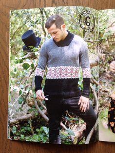 Un jersei modern per home.