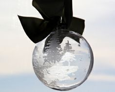 Holiday Gift Idea: How to Make Quick and Easy Etched Glass Ornaments