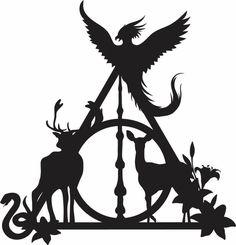Cricut Craft Room, Cricut Vinyl, Vinyl Decals, Silhouette Design, Silhouette Cameo, Harry Potter Stencils, Hogwarts, Harry Potter Silhouette, Cross Stitch Harry Potter