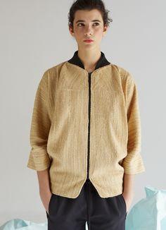 HARAMOUSH JACKET. lifegist. eco fashion. ecologic fashion