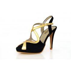 Sandalia de fiesta Martina Blue Blue Party, Party Shoes, Fashion, Strappy Sandals, Court Shoes, Fur, Black, Party, Elegant