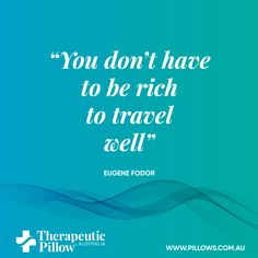"""You don't have to be rich to travel well"" #lifequotes"