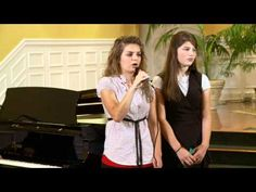 The Bates girls sing Nail it to the Cross. Erin, Alyssa, and Tory.