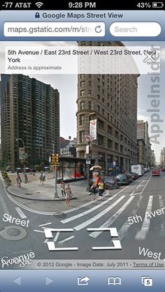 Street View for Google Maps web app goes live