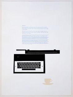Words on a Page - Words on a Page by Matthew Brannon, letterpress print on paper, 2008
