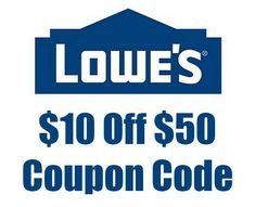 Lowes Coupon 2013 Project Starter
